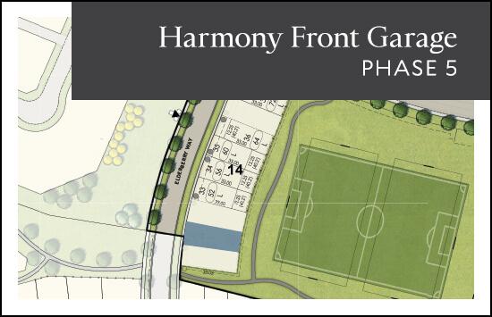 Front Garage (Phase 5) site plan