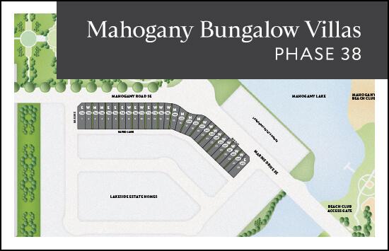 Bungalow Villas (Phase 38) site plan
