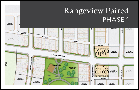 Paired (Phase 1) site plan