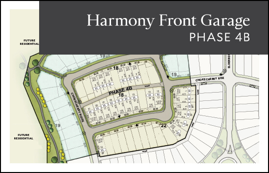 Front Garage (Phase 4B) site plan