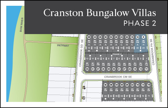 Bungalow Villas (Phase 2) site plan