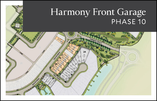 Front Garage (Phase 10) site plan