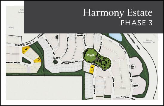 Estate (Phase 3) site plan