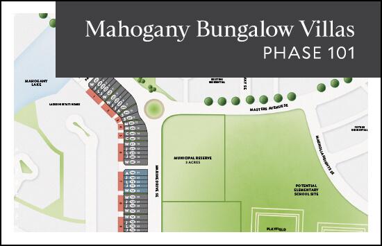 Bungalow Villas (Phase 101) site plan
